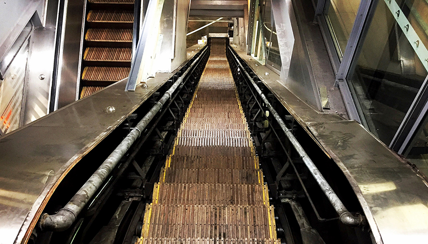 RAIL Town Hall Escalators 2017 03 cropped