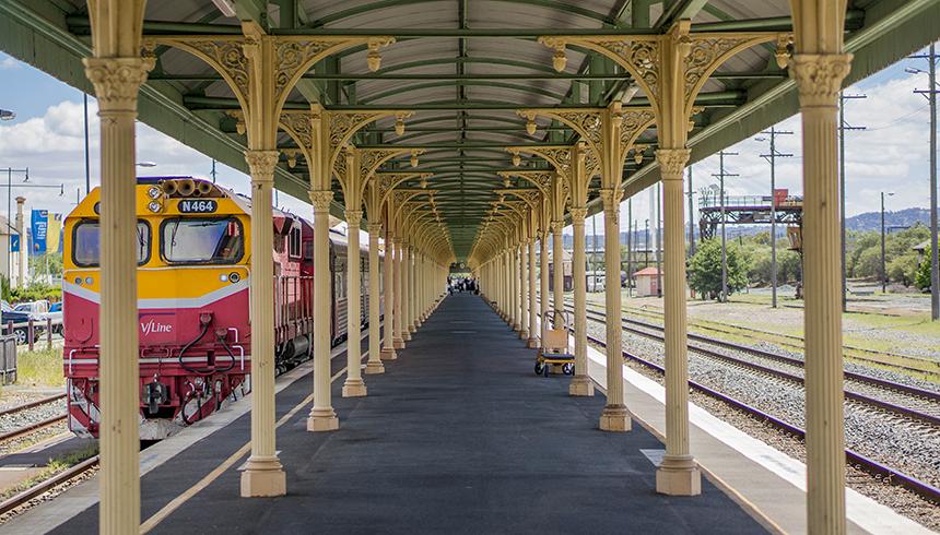 2016 - Rail - Albury - 01