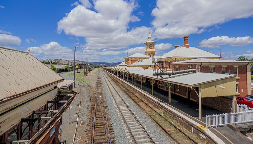 2016 - Rail - Albury - 04