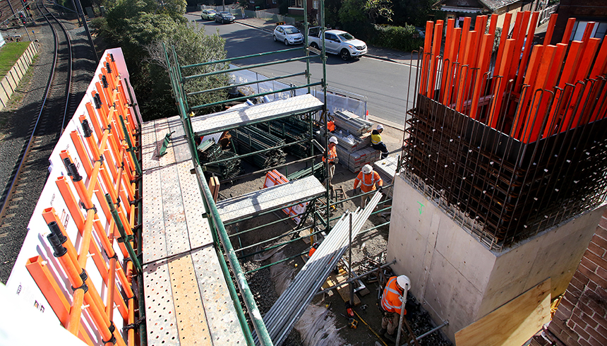 2017 Rail Homebush Stn Upgrade 03 cropped