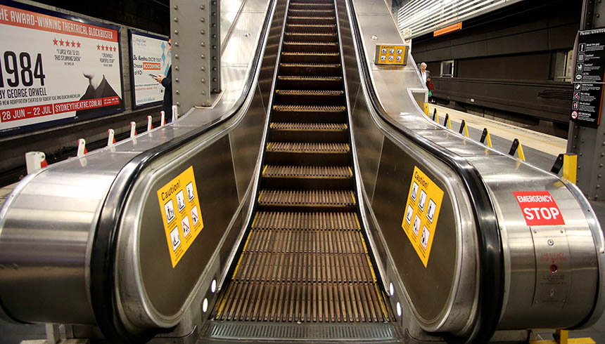 Rail_Town Hall Escalators_2017 01 cropped