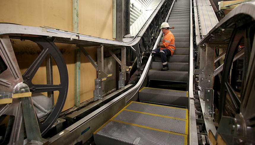 Rail_Town Hall Escalators_2017 07 cropped