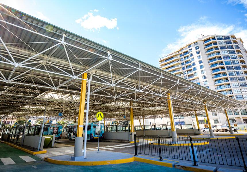 Edgecliff Station_6 Bus Interchange