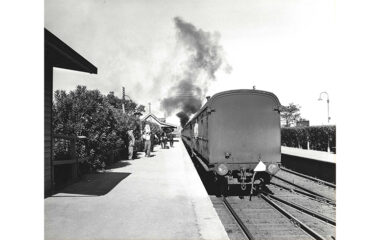Fairy Meadow Station 1954