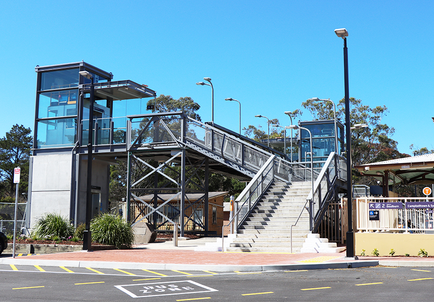Mittagong Station Upgrade opened October 2020