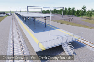 Wolli Creek Station Canopy Extension