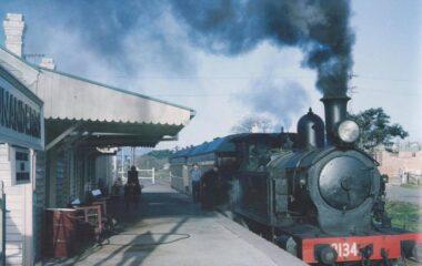Unanderra Station c.1964