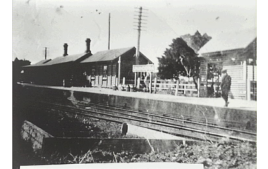 Unanderra Station c.1930