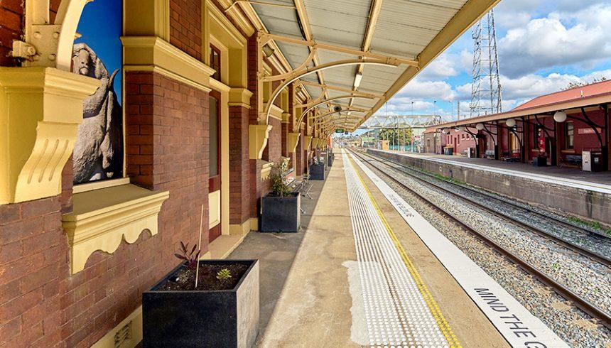 Goulburn Station Upgrade May 2021