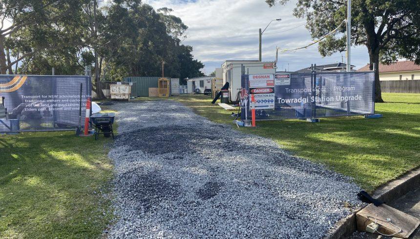 Degnan Constructions Site Set up Towradgi
